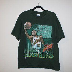 VTG Seattle Sonics Hersey Hawkins Shirt